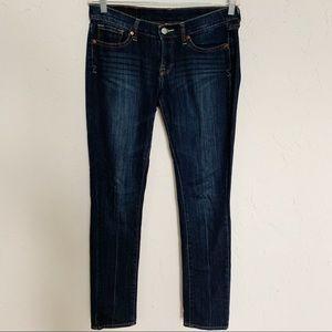 Lucky Brand Zoe Skinny Dark Wash Jeans Sz 6/28